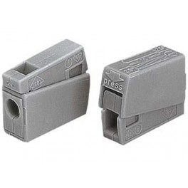 LIGHTING CONNECTOR. 2.5mm. 105deg . GREY